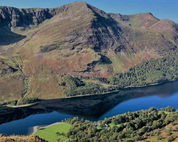 Mountain Walking and Elizabethan history in the North West Lakes