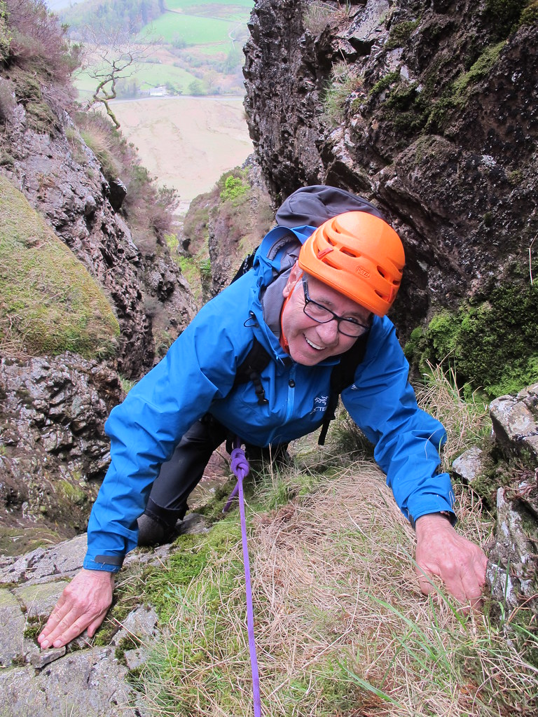 Lake District Scrambling Course - Develop your Skills with Robin Beadle!